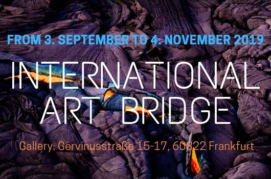 EXHIBITION 03.09 - 04.11 | PETRA BECKER INTERNATIONAL ART BRIDGE GALLERY | FRANKFURT